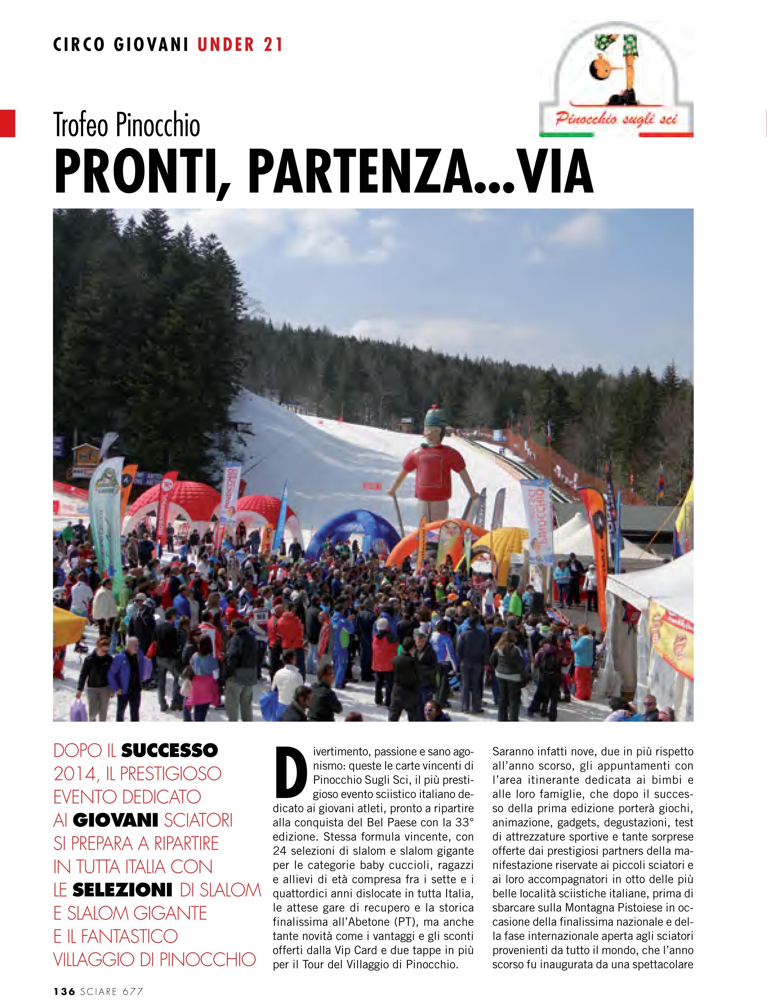 Sciare Magazine n°13 Dicembre 2014