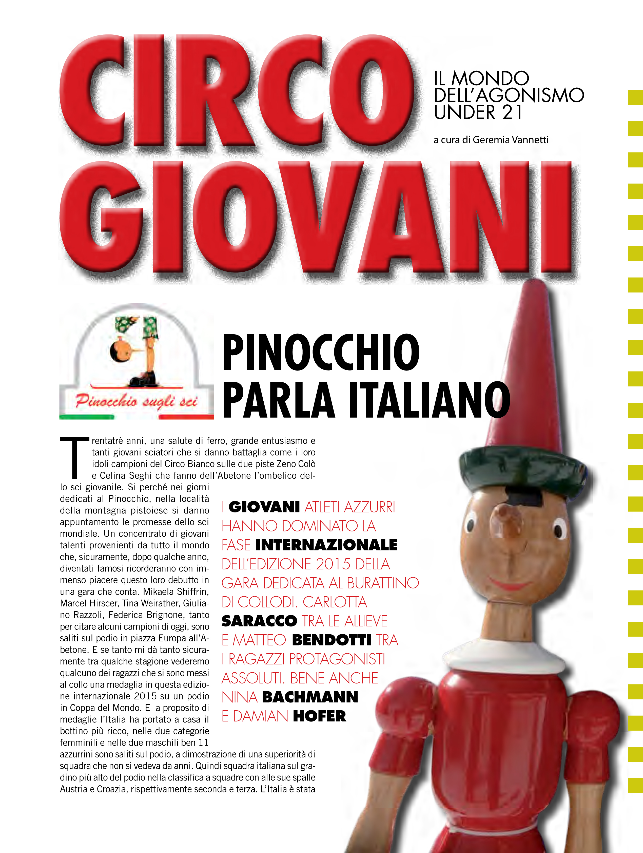 Sciare Magazine Ottobre 2015