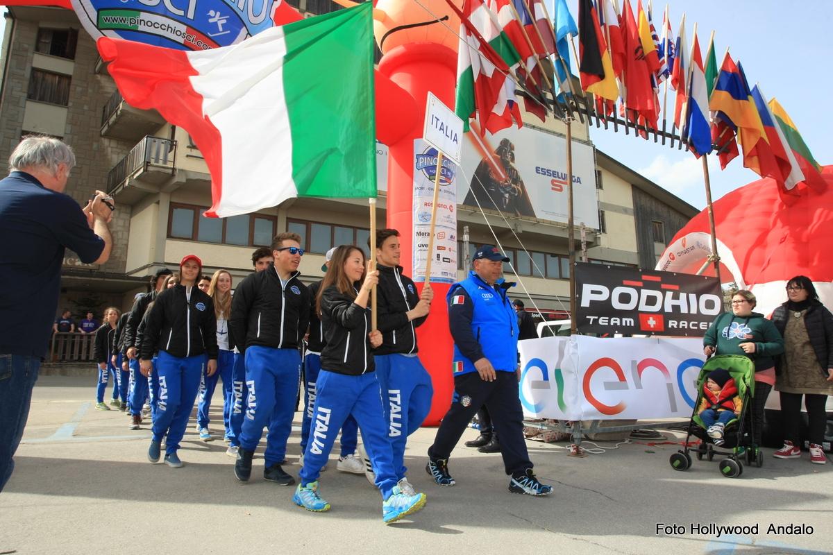 Cerimonia Apertura Fase Internazionale 2016