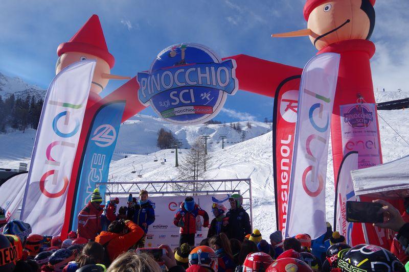 A Courmayeur arriva Pinocchio sugli sci